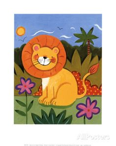 Baby Lion Prints by Sophie Harding - AllPosters.co.uk