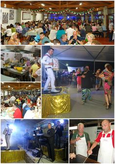 The 2nd and 3d weekend of june it's sagra time in our little village.  And they know how to party here :-D