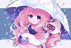 """椿つばる on Twitter: """"そうさく #2018年自分が選ぶ今年の4枚… """" Cute Anime Chibi, Cute Anime Pics, Anime Girl Cute, Kawaii Anime Girl, Art Anime, Anime Artwork, Anime Art Girl, Manga Art, Anime Character Drawing"""