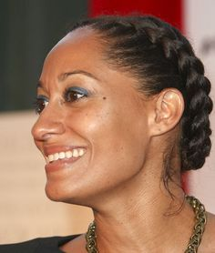 braided hairstyle (Tracie Ellis Ross is one of my hair icons like Brandy and Ciara. I am loving this and just might have to make this my new look for the week!)