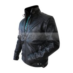 Bourne Legacy Jaremy Renner Aaron Cross black leather jacket it's stylise, awesome design, clear extent make it a very cheep price.This leather jacket every one to buy new fashions design.