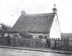 Granny Gibbs Cottage, Thorn wood, Partick Glasgow