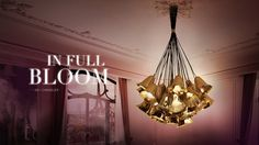 Chandelier GIA by Koket. I love this design, so unique and elegant, different from anything else #koket #luxury #furniture #elegant