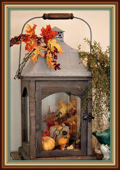 Decorating for Fall - designsofhome.com