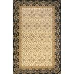 Persian Garden Charcoal (Grey) 9 ft. 6 in. x 13 ft. Indoor Area Rug