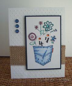 Great Impressions Stamp, Sample, Carla's Scraps