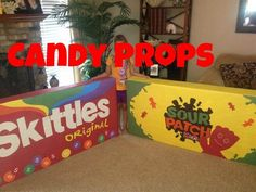 Make Giant Candy Props - Bing Images