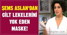 A mask that removes skin blemishes from Şems Aslan! A mask that removes skin blemishes from Şems Aslan! I Go To Work, Diet And Nutrition, Home Remedies, How To Remove, Stains, Weight Loss, Beauty, Tricks, The One