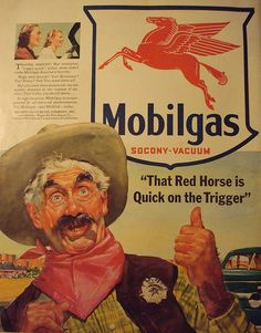 retro mobilgas ad...By girlcalledheaven