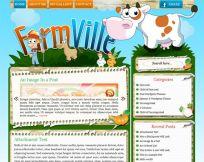 Farmville WordPress Theme