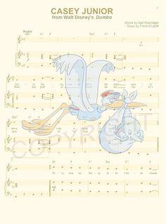 Dumbo Art Print by AmourPrints on Etsy