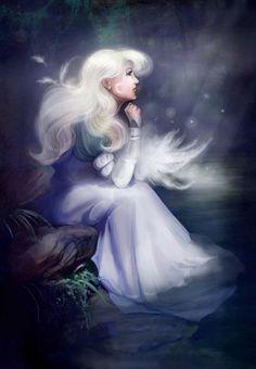 http://elf-in-mirror.deviantart.com/ - Odette, the Swan Princess