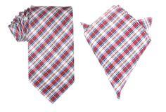 Matching Necktie + Pocket Square Combo Tango Maroon w/ Blue Stripes Men's Handkerchief + Neck Tie Ties Neckties Wedding Groom Attire, Pocket Square, Tango, Blue Stripes, Tie, Fashion, Moda, Pocket Squares, Fashion Styles