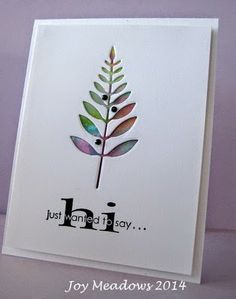Morning Glory Card Studio: not quite sure. . . .