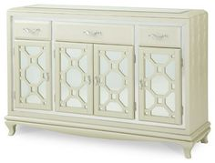 After Eight Pearl Croc Sideboard - modern - buffets and sideboards - Carolina Rustica