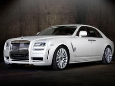 Mansory Rolls-Royce White Ghost Edition