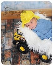 A fun hat that is full of details just like a real hard hat, but nice and soft…