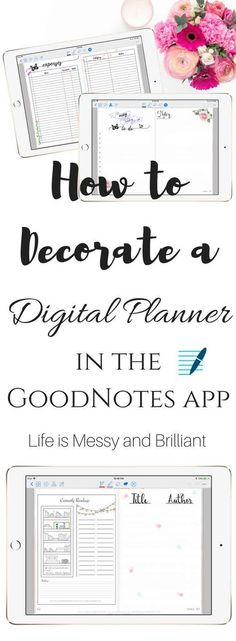 How to Decorate a Digital Planner GoodNotes app, Digital Planner, Digital Planner GoodNotes, Digital Bullet Journal Planner, Digital Stickers, iPad Pro Planner, Planner Stickers, Printable Stickers, Cute Planner Stickers, Digital art Planner, Digital Planner Ipad Pro, Digital Planner Ipad, Ipad Planner, Printable Planner, Goodnotes Planner, Planner Pro, Tablet Planner, Digital Planner Setup, how to digital planner