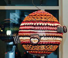 Crocheted Lamp By Decorkuznetsov