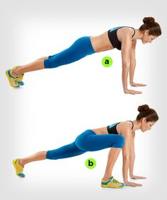Forget standard planks. Moves like these deliver an even better abs workout. Read more: http://www.womenshealthmag.com/fitness/plank-exercise?cm_mmc=Pinterest-_-womenshealth-_-content-fitness-_-makeplanksharder