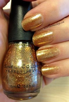 Sinful Colors - All About You from the 'Glitters For Fall Collection from Fall '09'.