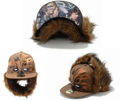 Chewbacca wookie new era fitted hat lol priceless.