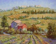 Wine Country by Connie Winters Oil ~ 24 x 30