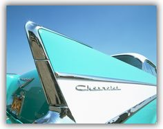 The Classic Chevy Fin - I think mom had one when I was very small