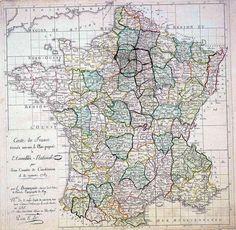 Proposition de création des départements en 1789