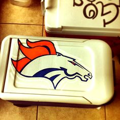 Broncos cooler