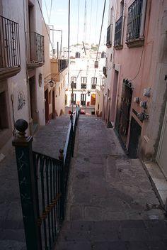 Mi calle favorita. Zacatecas, México. by ClauVonQM, via Flickr