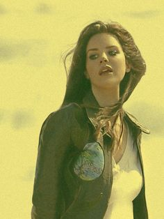 Lana Del Rey West Coast Wallpaper
