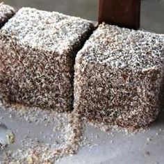 Lamington Cupcakes - Cupcake Cubes Frosted On All Sides Recipe ...
