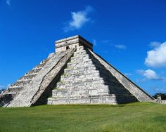 A pyramid from the Ancient Olmec civilization. This is an example of one of the buildings that existed during the times of Pre-Colombian times.