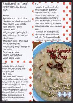Bubur lambuk Healthy Foods, Healthy Recipes, Electric Pressure Cooker, Mashed Potatoes, Oatmeal, Yummy Food, Breakfast, Ethnic Recipes, Healthy Food