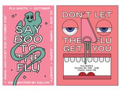 Flu Shot Posters by charity: water