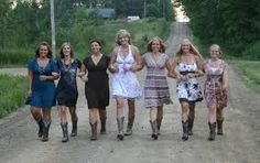 Country Chic Wedding Guest Attire\