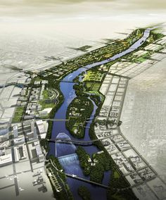 Minneapolis Riverfront Design Competition Finalist - Turenscape: The Resilient River