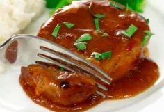 Recette : Côtelettes de porc mijoteuse. South African Recipes, Ethnic Recipes, Campbells Recipes, Pork Chop Recipes, Pork Chops, Crockpot, Slow Cooker, Dinner Recipes, Good Food