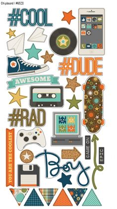Spring 2015 Reveal Day 3 - So Rad | Simple Stories #simplestories #SoRad