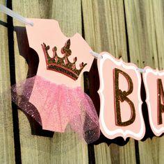 47 Ideas Baby Girl Shower Themes Princess Banners For 2019 Decoracion Baby Shower Niña, Idee Baby Shower, Shower Bebe, Baby Girl Shower Themes, Girl Baby Shower Decorations, Baby Boy Rooms, Baby Boy Shower, Baby Room, Ballerina Baby Showers