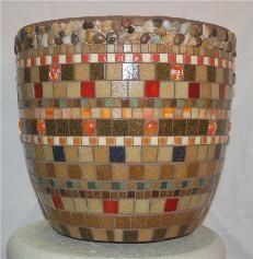 About Us (Patron Bottle Centerpieces) Mosaic Planters, Mosaic Garden Art, Mosaic Flower Pots, Mosaic Vase, Ceramic Flower Pots, Mosaic Diy, Mosaic Crafts, Mosaic Projects, Mosaic Bottles
