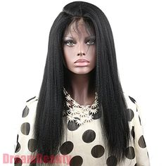 Dreambeauty Glueless Full Lace Wigs Human Hair for Black Women with Baby Hair *** Visit the image link more details.(This is an Amazon affiliate link and I receive a commission for the sales)