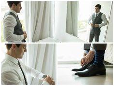 Noivo | Groom | Traje do noivo | Roupa do noivo | Dia do noivo | Making of do noivo | Groom's suit | Suit and tie | Terno | Sapato do noivo | Inesquecivel Casamento