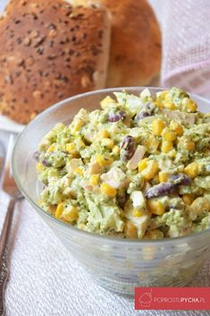 Sałatka brokułowa Mayonnaise, Side Dish Recipes, Side Dishes, Dressing, Polish Recipes, Salad Recipes, Potato Salad, Macaroni And Cheese, Healthy Snacks