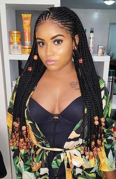 Long Fulani Braids with Beads hairstyles blackhair 68 Best Black Braided Hairstyles to Copy in 2019 New Natural Hairstyles, Cool Braid Hairstyles, African Braids Hairstyles, African American Hairstyles, Black Girls Hairstyles, Natural Hair Styles, Long Hair Styles, Goddess Hairstyles, Hairstyles 2018
