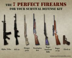 The 7 Perfect Firearms for Your Survival Defense Kit