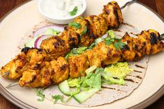 A simple but tasty chicken marinade you can make from items already in your kitchen. From Shawn's on Main restaurant, in Morro Bay, California. Kebab Recipes, Wrap Recipes, Indian Food Recipes, Ethnic Recipes, Shish Taouk Recipe, Chicken Marinades, Chicken Recipes, Grilled Chicken Tikka Recipe, Recipe Chicken