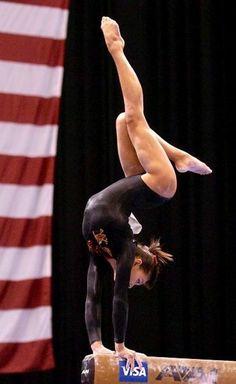 Shantessa Pama from Gymnastics: The Balance Beam board: Gymnastics: The Balance Beam, gymnast Gymnastics Poses, Amazing Gymnastics, Gymnastics Videos, Gymnastics Photography, Gymnastics Pictures, Sport Gymnastics, Artistic Gymnastics, Rhythmic Gymnastics, Sport Model