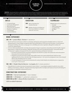 Amazing Resume Template 5